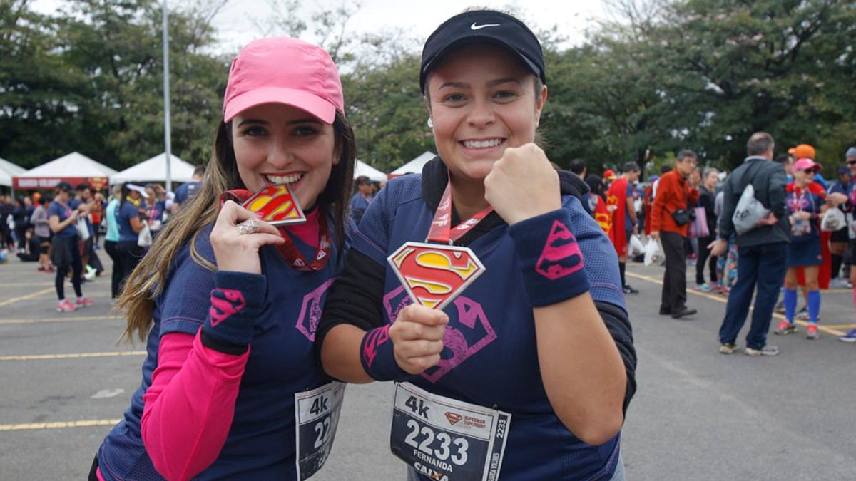 Corrida Superman e Supergirl é um evento organizado pela Yescom