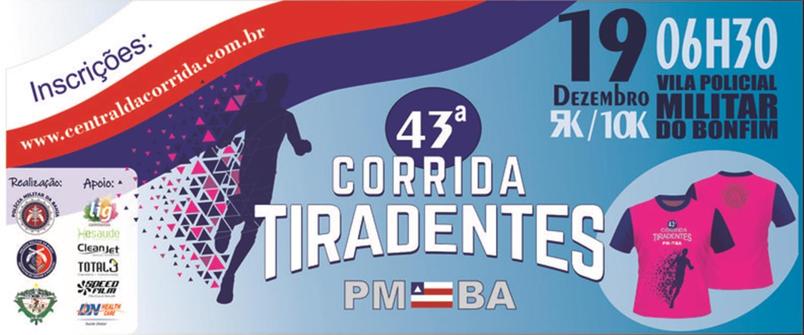 43ª Corrida de Tiradentes, 5km e 10km