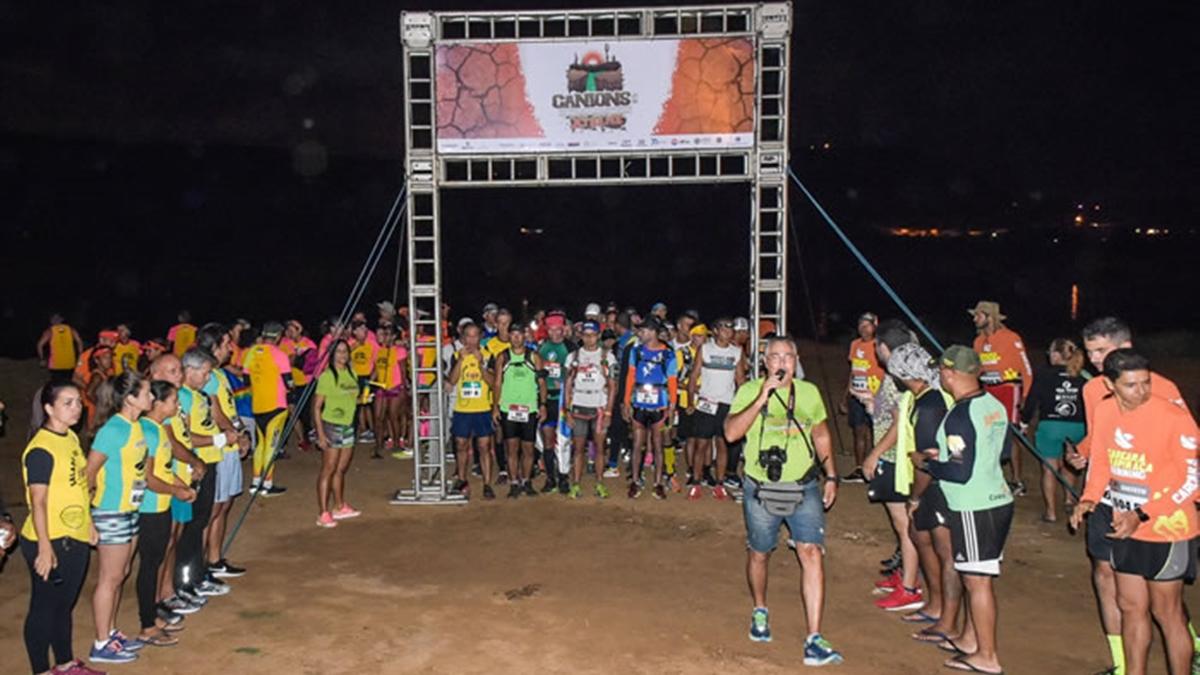 Largada da Canions Ultramarathon Xtreme 2020