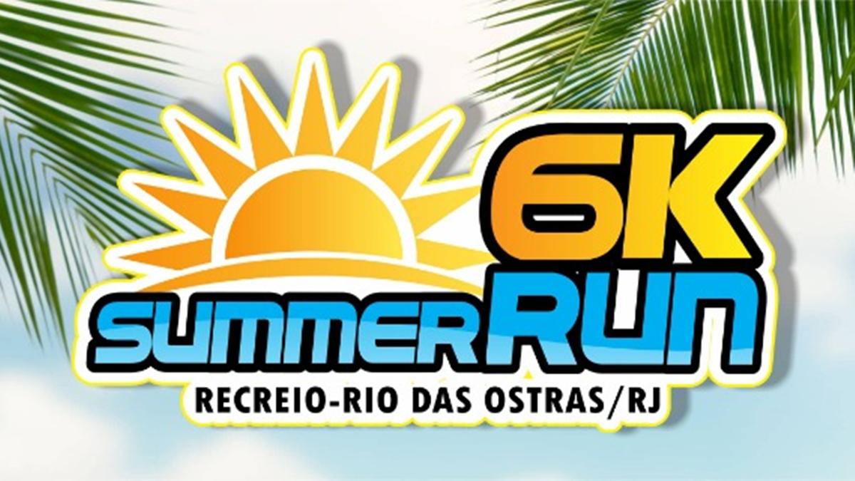 Loga da Summer Run 6 km no Rio de Janeiro