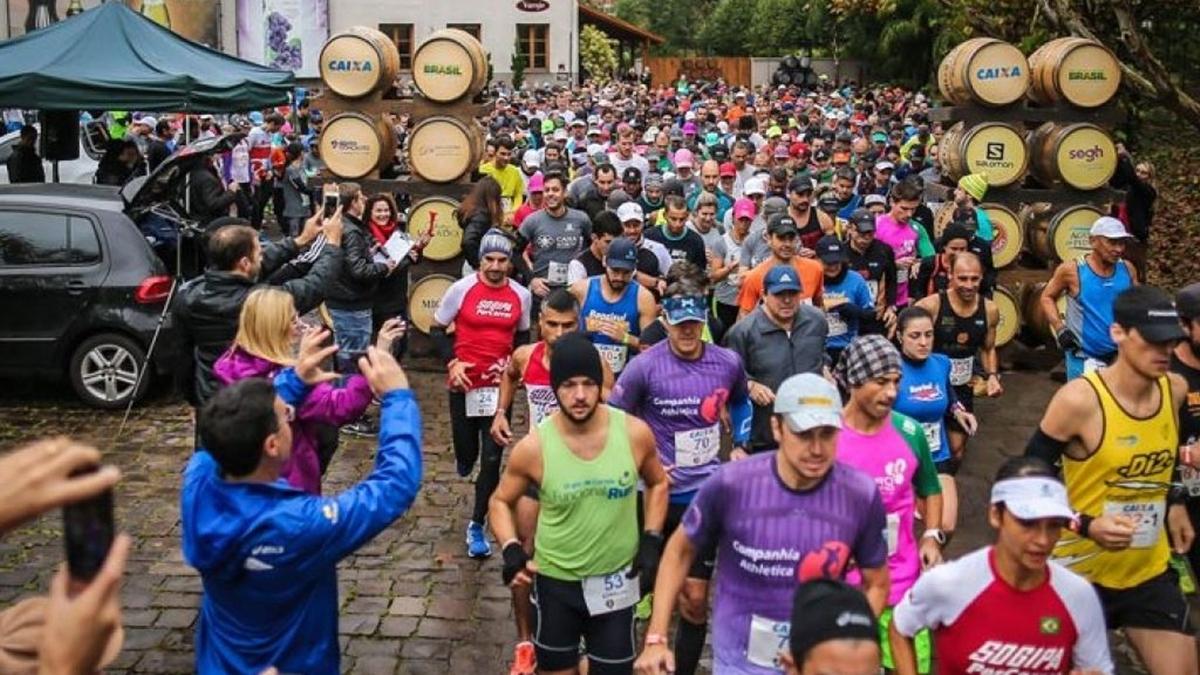 Wine Run Brasil - Bento Gonçalves